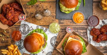 Craft Burgers. Indian Twist to a humble burger.