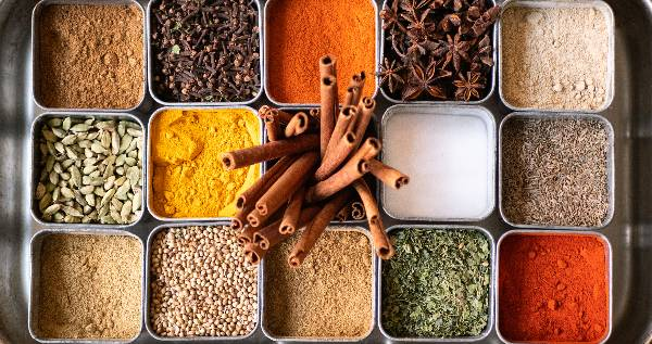 Array of Spices